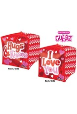 """I love you"" Cubez Folie Ballon"