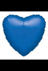 """Folie Ballon Hartvormig """"Blue"""""""