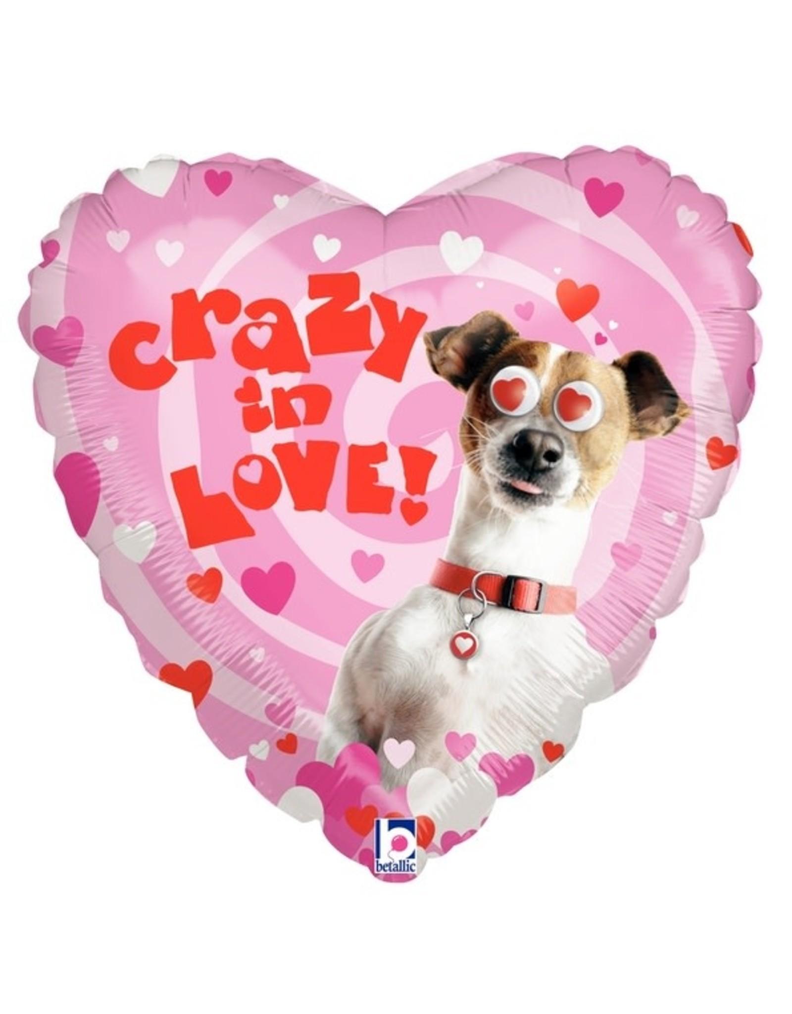 """Crazy in Love"" Folie Ballon"