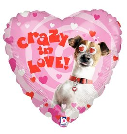 """Crazy in Love"" Folie Ballon"