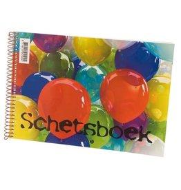 """Schetsboek """"Balloons"""" A3"""