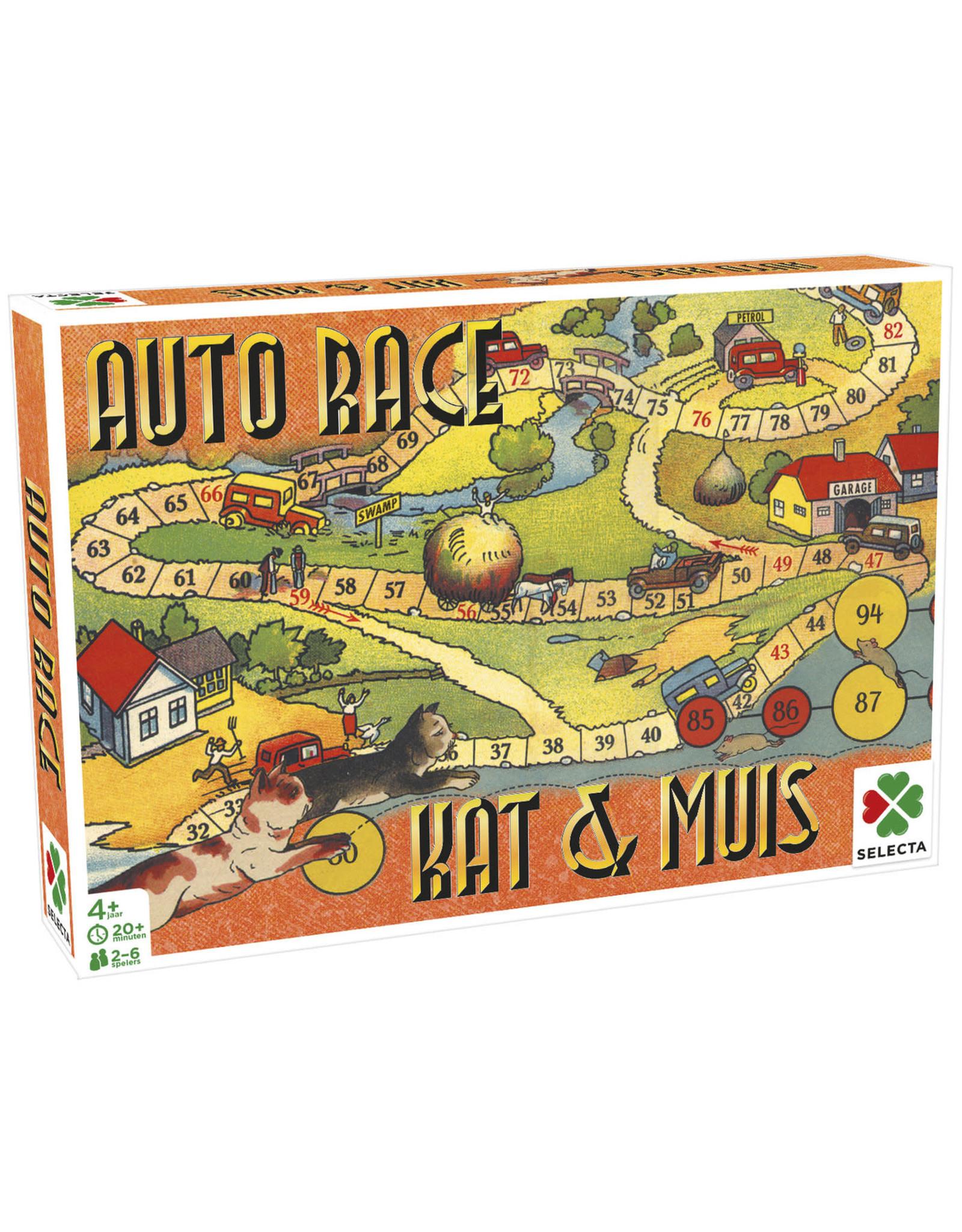 Auto Race - Kat & Muis