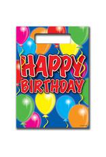 "Uitdeelzakjes ""Happy Birthday"" Balloons"