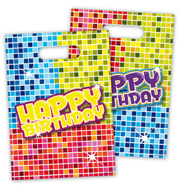 Uitdeelzakjes Birthday Blocks
