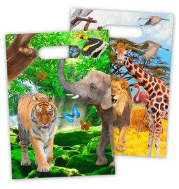 Safari Party Uitdeelzakjes
