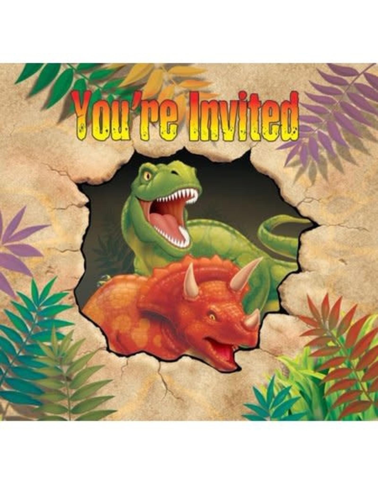 Dino Invitations