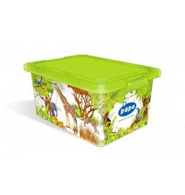 Papo Storage Box Wild Animal Kingdom (07810)