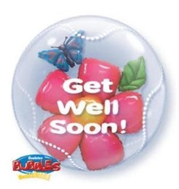 "Qualatex ""Get Well Soon!"" Bubble"