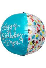 """""""Happy Birthday to You!"""" Ronde Folie Ballon"""