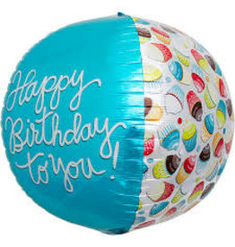 """Happy Birthday to You!"" Ronde Folie Ballon"
