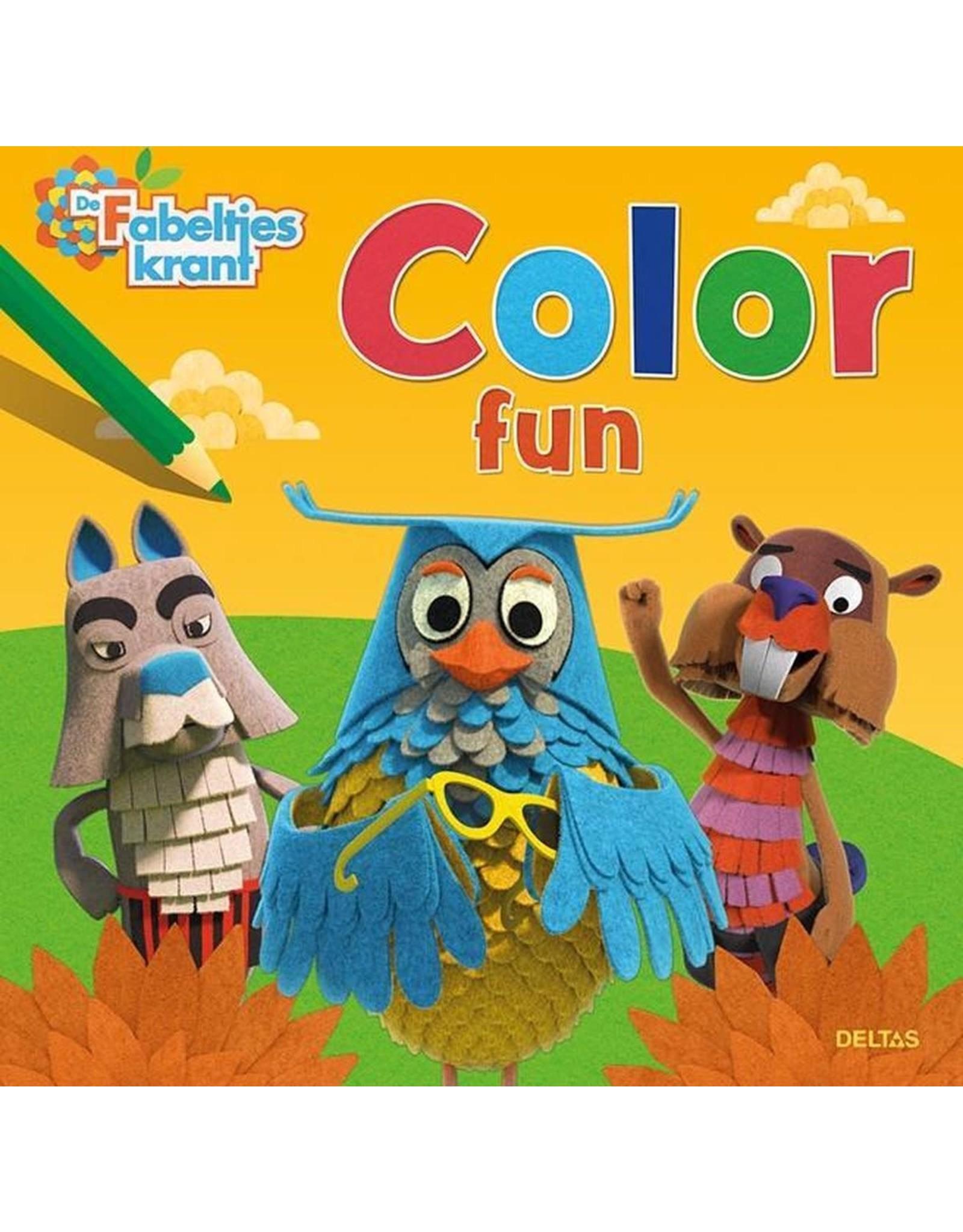 """Deltas Color Fun """"De Fabeltjes Krant"""""""