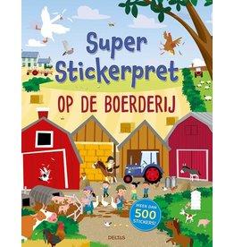 """Deltas Super Stickerpret """"Op de Boerderij"""""""