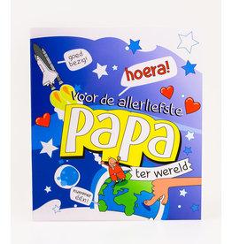 Cartoon Wenskaart - Papa