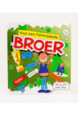 Cartoon Wenskaart - Broer