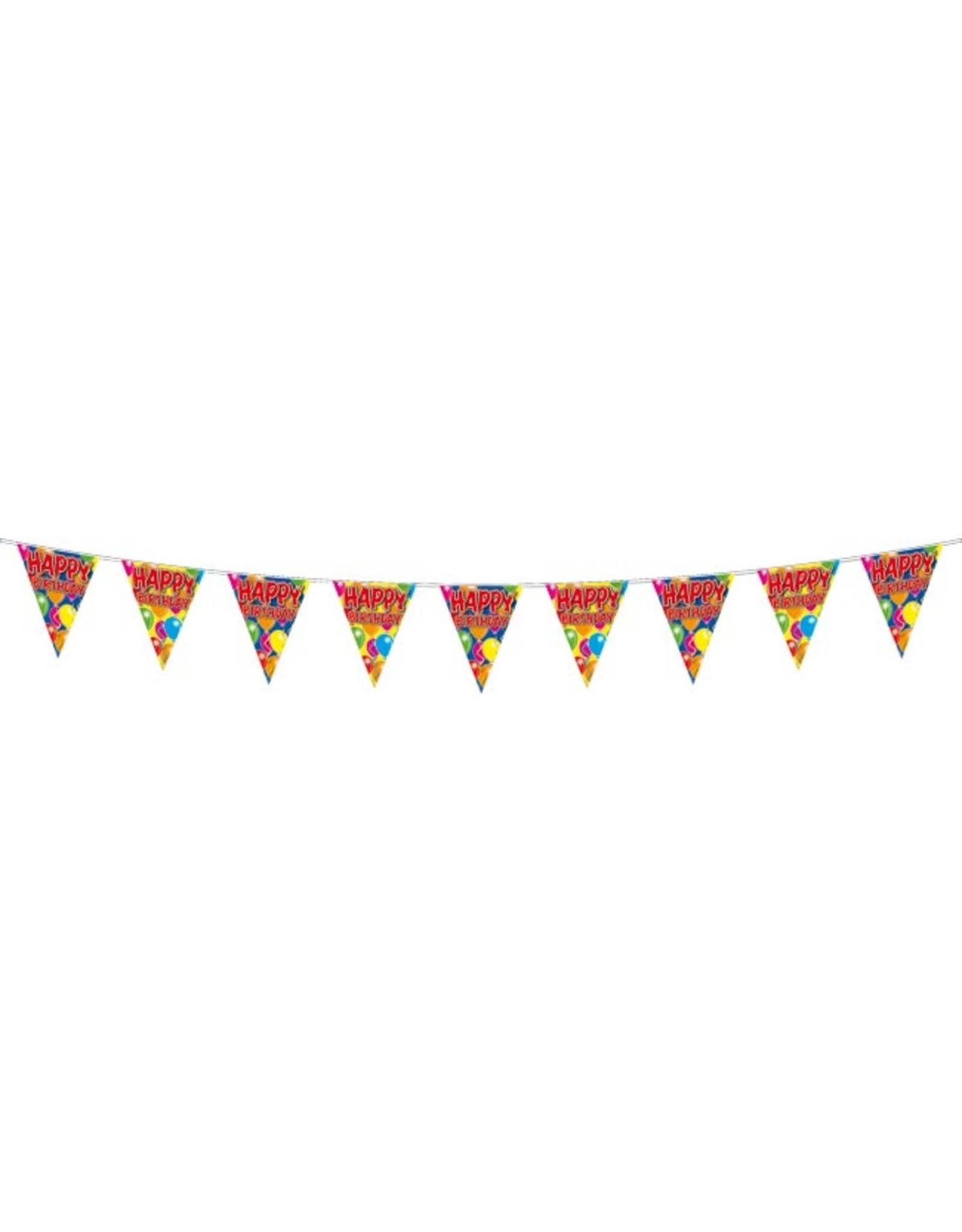 Balloons Vlaglijn Happy Birthday