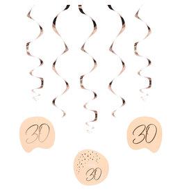 Elegant Lush Blush Hangdecoratie 30 Jaar