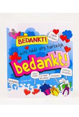 Cartoon Wenskaart - Bedankt!
