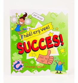 Cartoon Wenskaart - Succes!