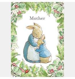 """Wenskaart Peter Rabbit """"Mother"""""""