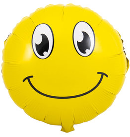 Emoticon Glimlach Folie Ballon