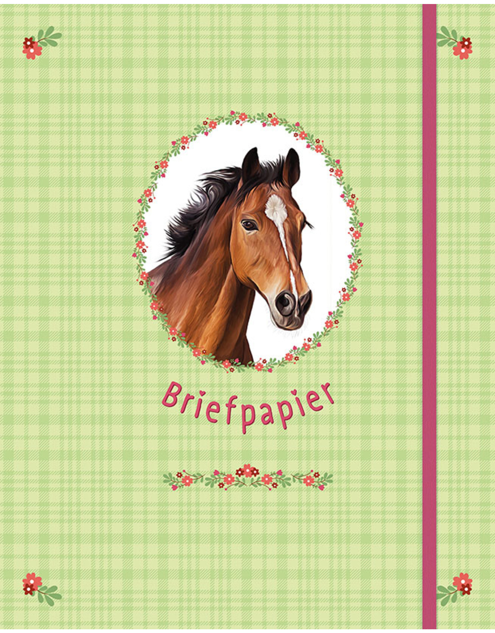 Deltas Briefpapier Paarden