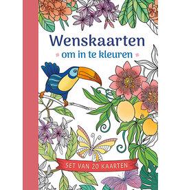 Deltas Wenskaarten om in te kleuren