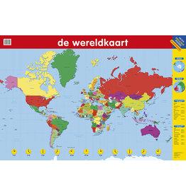 Deltas Educatieve Posters - De Wereldkaart