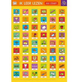 Deltas Educatieve Posters - Ik leer lezen (AVI start)