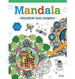 Deltas Mandala kleurpret voor jongens