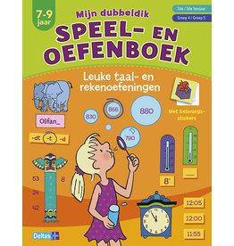 Deltas Speel- en oefenboek - taal- en rekenoefeningen
