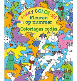 Deltas Funny Coloring - Kleuren op nummer