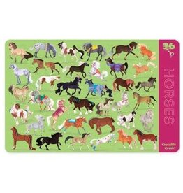"Crocodile Creek Placemat ""36 Horses"""