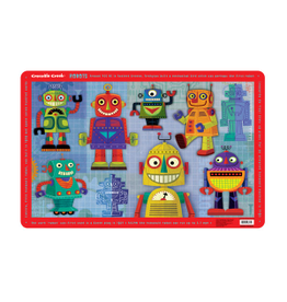 "Crocodile Creek Placemat ""Robots"""