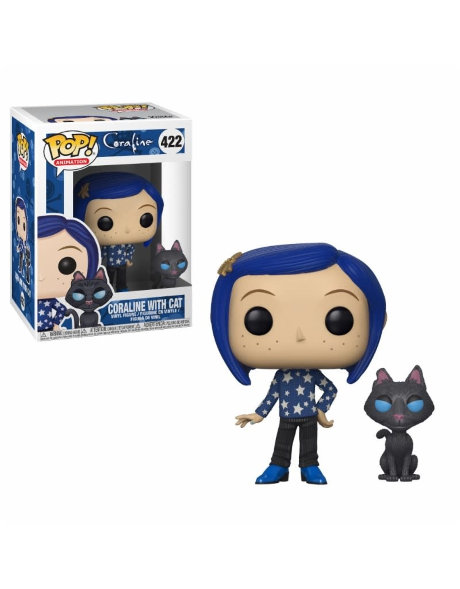 Funko Pop! Funko Pop! Animation nr422 Coraline with Cat