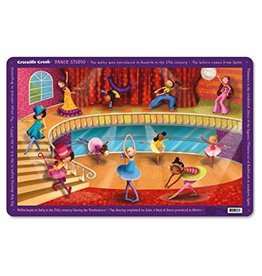 "Crocodile Creek Placemat ""Dance Studio"""
