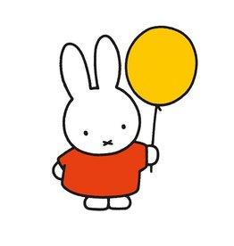 "nijntje nijntje wenskaart ""Ballon"""