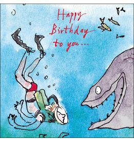 "Woodmansterne Quentin Blake ""Happy Birthday to you..."""