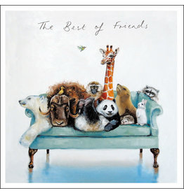 """Woodmansterne Sofa so Good """"The Best of Friends"""""""