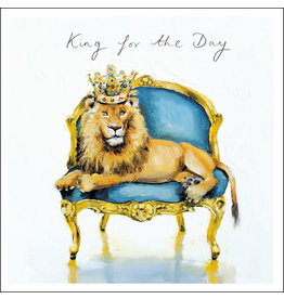 """Woodmansterne Sofa so Good """"King for the Day!"""