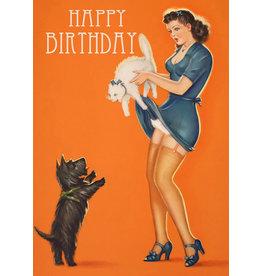 "Madame Treacle Wenskaart ""Cat & Dog"""
