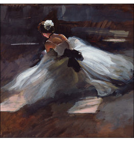"Woodmansterne Oil on Canvas ""Ballerina"""