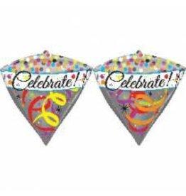 """""""Celebrate!"""" Diamondz Folie Ballon"""