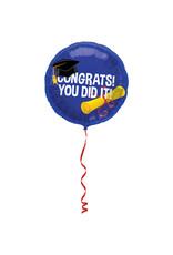 Congrats! You did It Folie Ballon