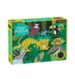 """Mudpuppy Fuzzy Puzzle """"Rainforest"""""""