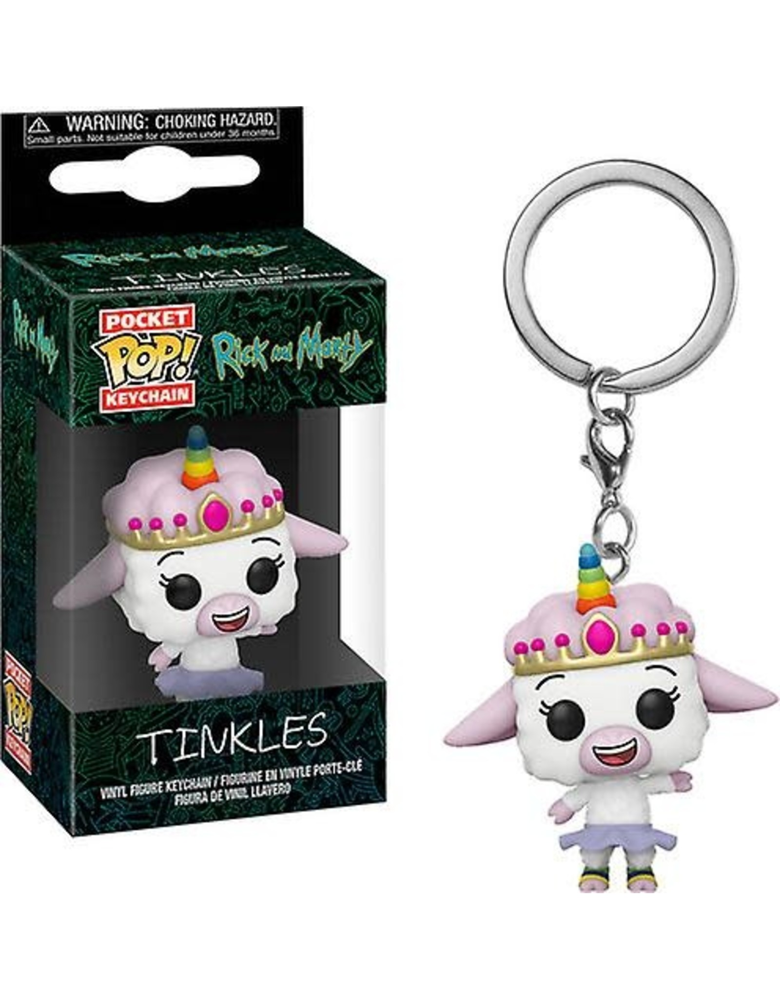 Funko Pop! Funko Pocket Pop! Rick and Morty - Tinkles