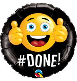 """#Done!"" Folie Ballon"