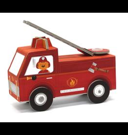 Krooom Fold My Car - Fire Truck