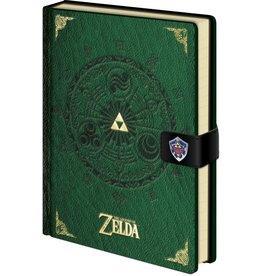 Zelda Green Clasp Notebook