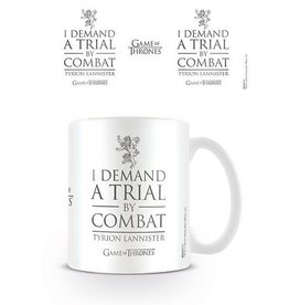 """I Demand A Trial By Combat"" Mug"