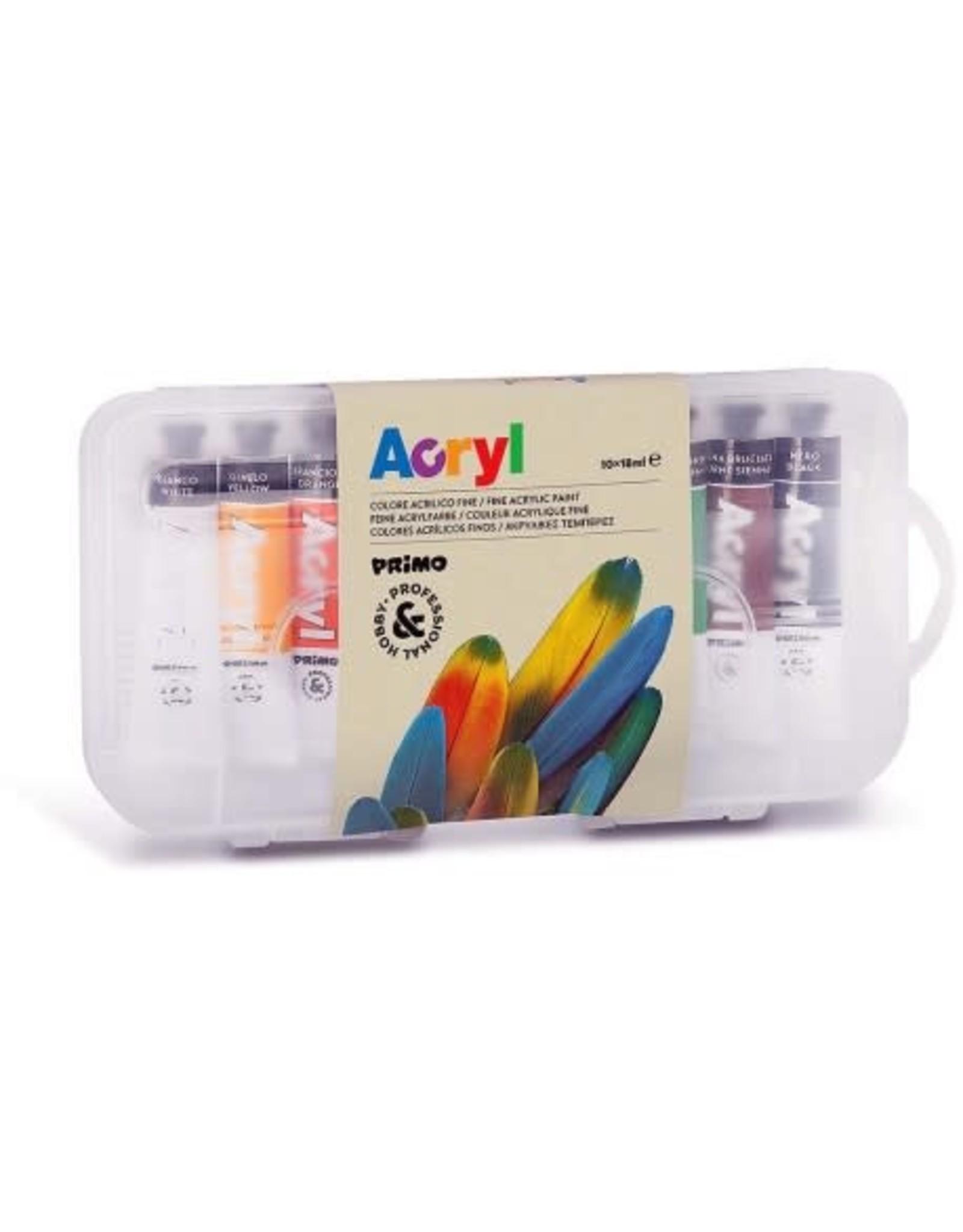 Primo Acrylverf 10x18 ml